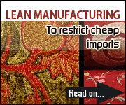Lean manufacturing To restrict cheap imports