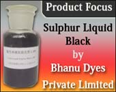 Sulphur Liquid Black by Bhanu Dyes Private Limited