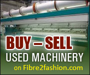 Buy - Sale Used Machinery on Fibre2fashion