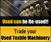 Trade your Used Textile Machinery