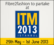 Fibre2fashion to partake at ITM 2013