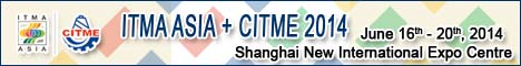 ITMA Asia/CITME 2014, June 16 - 20, 2014