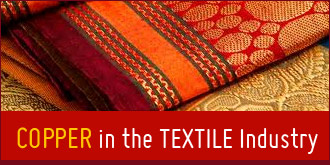 Copper in the textile Industry