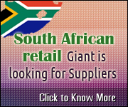 South African retail Giant is looking for supplier