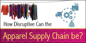 How Disruptive Can the Apparel Supply Chain be