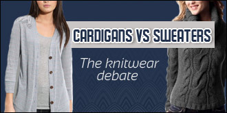 Cardigans Vs Sweaters - the knitwear debate