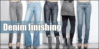 Denim finishing