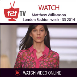 Matthew Williamson London Fashion week - SS 2014 show