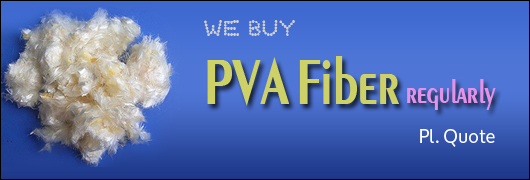 We buy PVA Fibre regularly pl quote