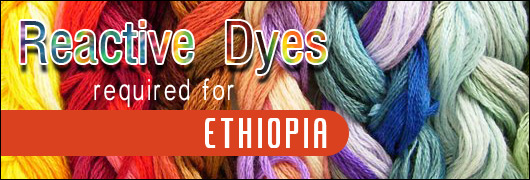 Reactive dyes required for Ethiopia