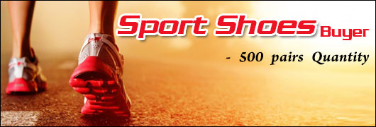 Sport Shoes Buyer - 500 pairs Quantity