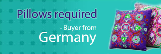Pillows required - Buyer from Germany