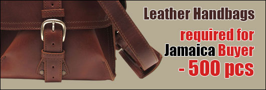 Leather Handbags required for Jamaica Buyer - 500 pcs