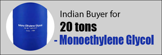 Indian Buyer for 20 tons - Monoethylene Glycol
