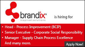 Brandix is Hiring - Apply Now