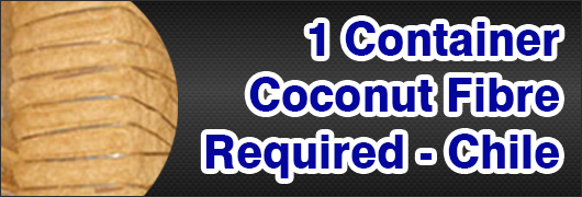 1 Container coconut fibre required - Chile