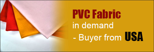 PVC Fabric in demand - Buyer from USA