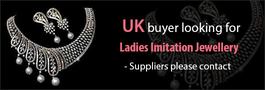 UK buyer looking for Ladies Fashion Imitation Jewellery Suppliers please contact