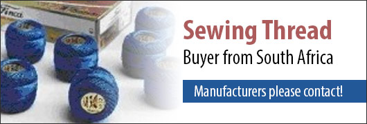 Sewing Thread Buyer from South Africa - Manufacturers please contact