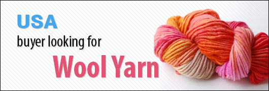 Buyer from United States Of America looking for Wool Yarn