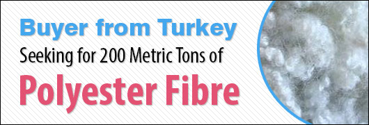 Buyer from Turkey - Seeking 100-200 Metric Tons of Polyester Fibre