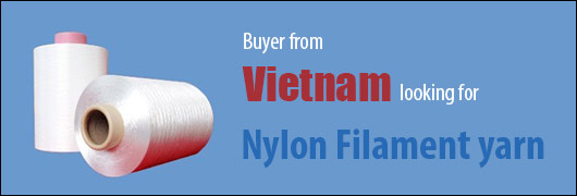 Buyer from Vietnam looking for Nylon Filament yarn
