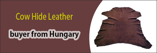 Cow Hide Leather buyer from Hungary