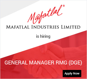 Mafatlal Industries Pvt Ltd is Hiring