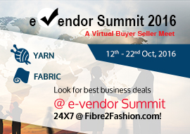 e-vendor Summit 2016 - Yarn & Fabric
