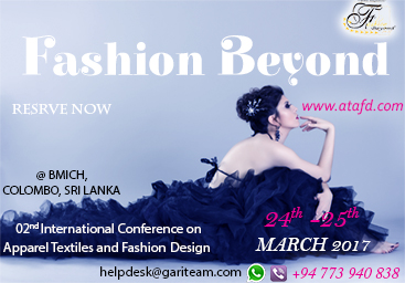 Conference on Apparel, Textiles and Fashion Design 2017