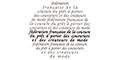 Federation De La Couture, Du Pret A Porter, Des Couturiers Et Des Createurs De Mode
