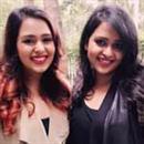 Divvya and Nidhhi Gambhir