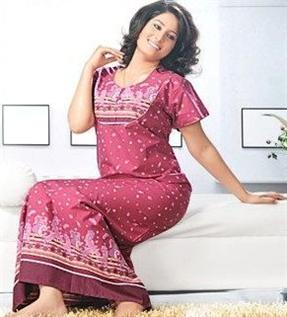 Night dresses (Sleep wear):100% Combed Cotton, Cotton / Spandex, Cotton / Polyester, Viscose / Spandex, S-XXL
