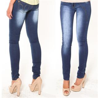 Jeans:100% Cotton or Cotton with Lycra, 26 - 34