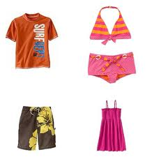 Beach wear:100% Cotton, 100% Polyester, Cotton/Spandex, Cotton/Polyester, 1/2-15/16 Months