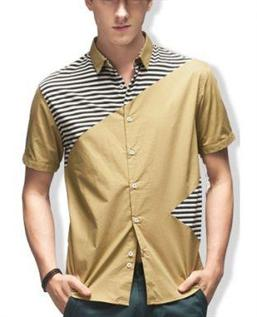 Shirt:100% Cotton, S-XXL with short sleeve