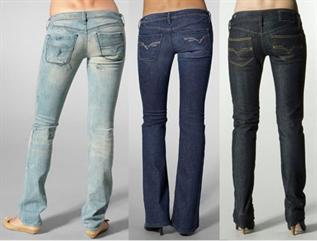 Jeans:Cotton, Poly/Cotton, XS - XL