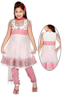 Georgette, Crepe, 100% Cotton, Chiffon, Jacquard, 100 Silk & blended as well (both), Age Group : 2 yrs to 8 yrs