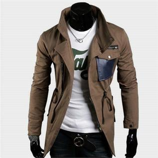 Jacket:100% Cotton, PC(35/35), M - XL