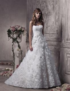 Bridal dress:100% Cotton/Satin/net/lace Fabric , XS to XXL