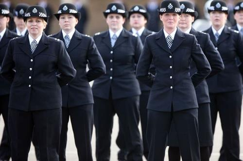 ladies police uniform