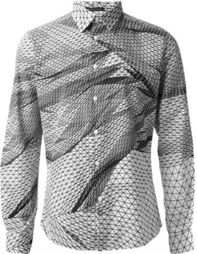 digitally printed men shirt