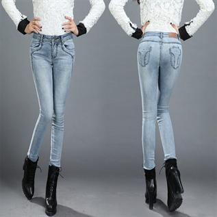 Jeans:97% Cotton / 3% Elastan, S-XL