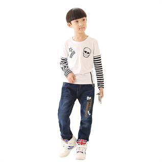 Jeans:100% Cotton, Age Group: 3 to 12 years