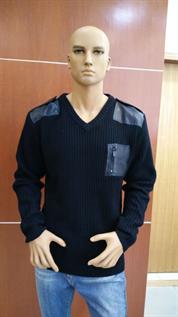 men's v neck pullover