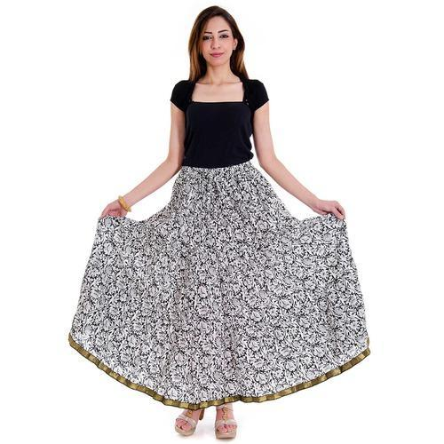 Ladies 100% Cotton Skirts