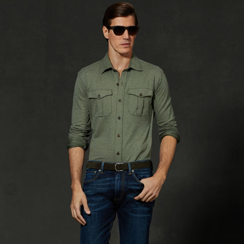 Men Pima Cotton Shirt