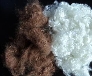 Polyester Staple Fibre (PSF):Dyed, Staple, For making yarn