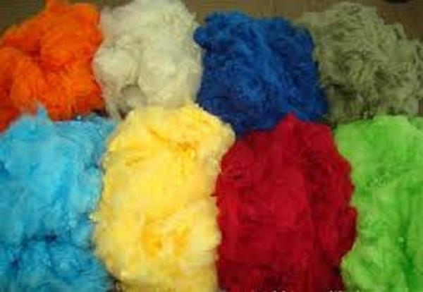 Polyester Staple Fibre dyed