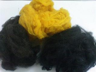 Polyester Staple Fibre (PSF):Dyed, Staple, 1.4 , Spinning yarn